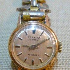 Relojes de pulsera: ANTIGUO RELOJ PULSERA, DE DAMA, A CUERDA, 17 RUBIES, 1960S, FESTINA. Lote 23635217