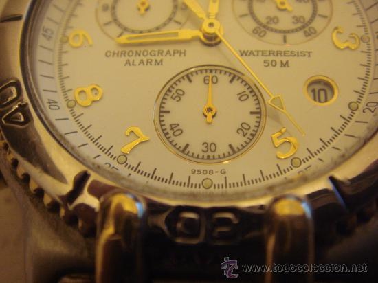 e89643758f6b Relojes de pulsera  Reloj de pulsera caballero Lotus Chronograph acero y  enchape en oro -