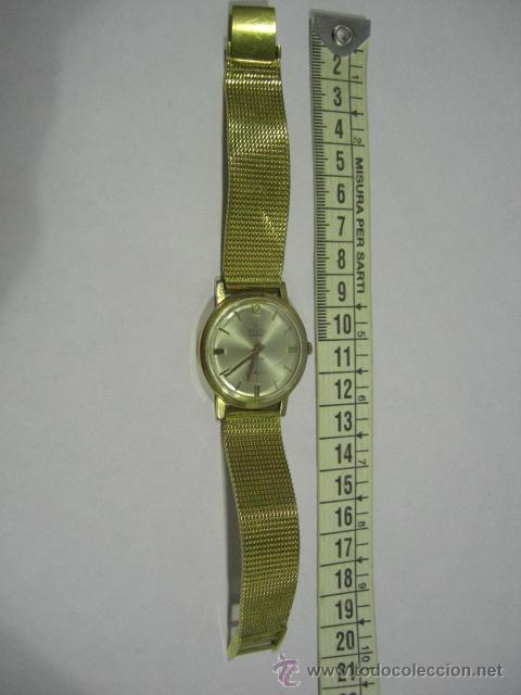 RELOJ DE PULSERA. POTENS. ORO DE 18 K. PESO TOTAL DEL RELOJ 53,1 GRAMOS. (Relojes - Pulsera Carga Manual)