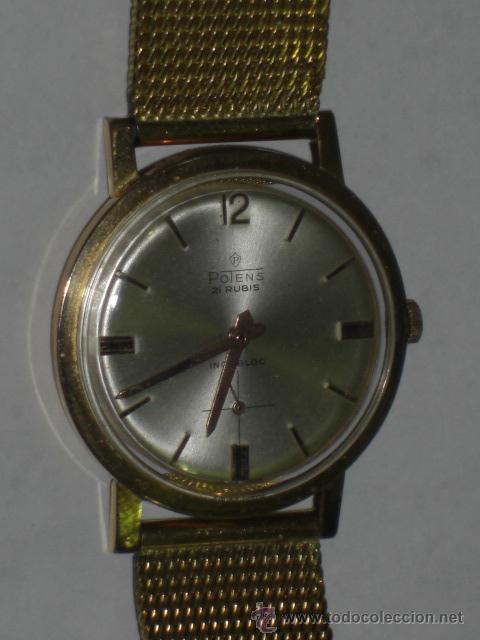 Relojes de pulsera: Reloj de pulsera. Potens. Oro de 18 k. Peso total del reloj 53,1 gramos. - Foto 4 - 215758187