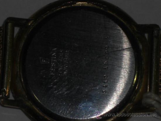 Relojes de pulsera: Reloj de pulsera. Festina. Oro de 18 k. Peso total del reloj 54,3 gramos. - Foto 5 - 26829856