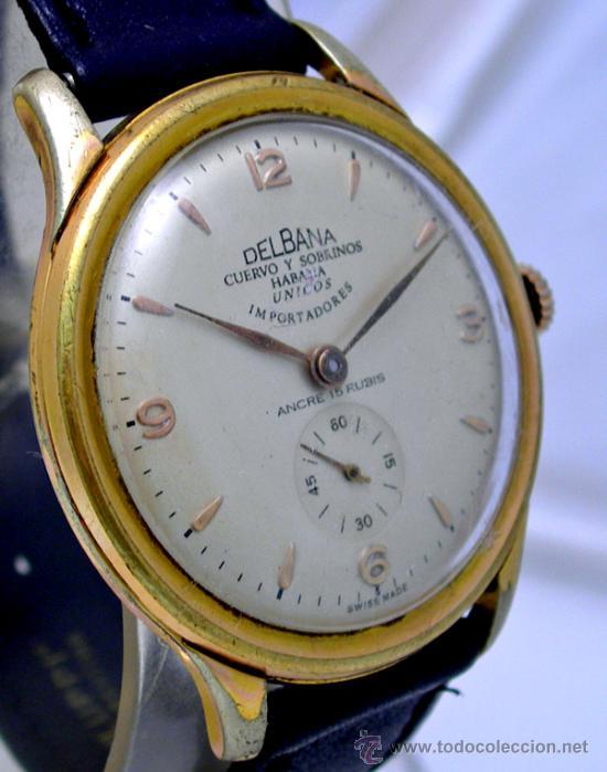 df80a2fbe 3 fotos VINTAGE CUERVO Y SOBRINOS HABANA 1950 (Relojes - Pulsera Carga  Manual) ...