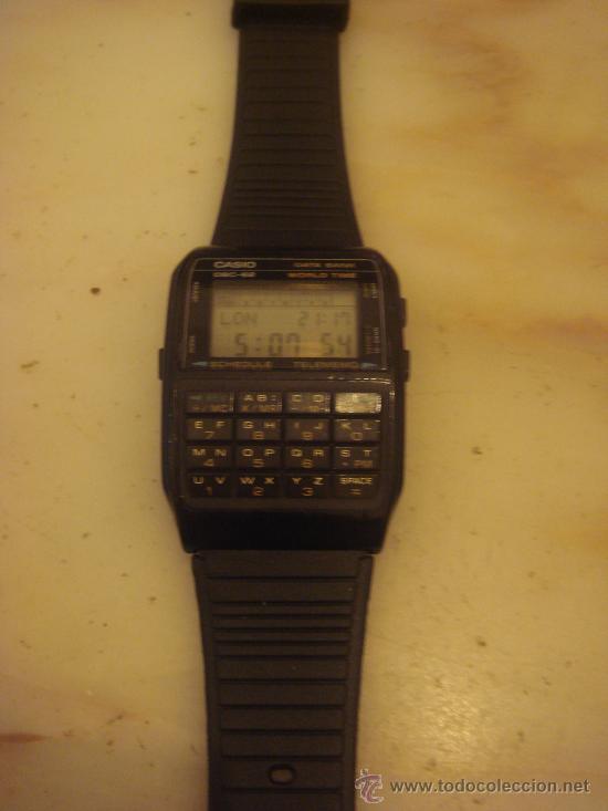 Casio Data Subasta Digital En Reloj Bank Vendido 62 Antiguo Dbc 0mwnN8