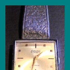 Relojes de pulsera: INTERESANTE Y BONITO RELOJ EXACTUS (CABALLERO / SEÑORA) AÑOS 40/50. Lote 27018410