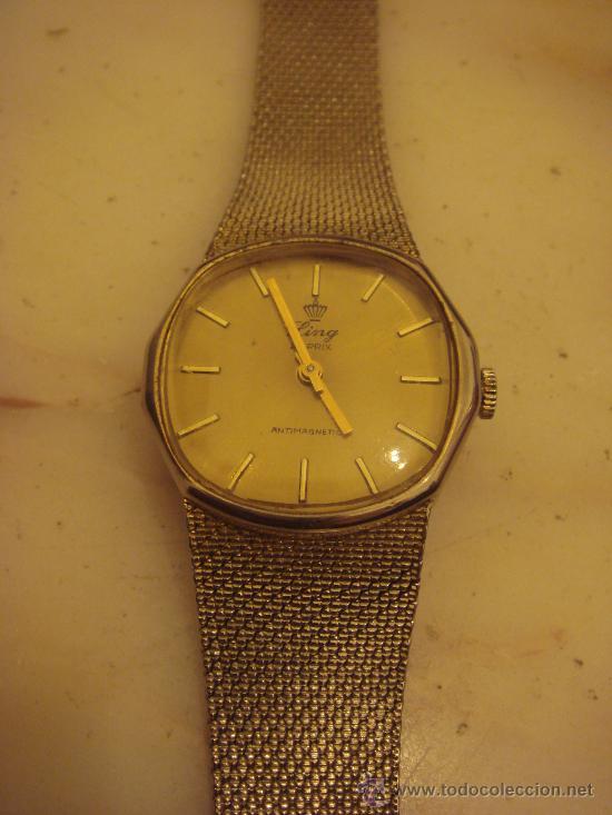 Oro Enchapado 21 Reloj Subasta Pulsera En Prix De Ling Vendido WHDYe29EIb
