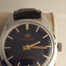 Relojes de pulsera: RELOJ TIMESTAR 17 JEWELS SHOCKPROOF. CARGA MANUAL. FUNCIONA PERFECTAMENTE. . Lote 24954641