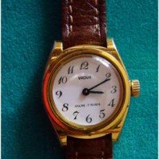 Relojes de pulsera: RELOJ SEÑORA VADUR AÑO 1970. Lote 26454772