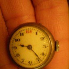 Relojes de pulsera: RELOJ DE PLATA MUY PEQUEÑO Y MUY ANTIGUO. Lote 25066693