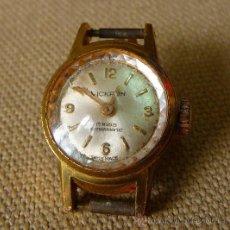Relojes de pulsera: ANTIGUO RELOJ, VICKRON, 17 RUBIES, A CUERDA, PULSERA, DE DAMA, 1960S. Lote 26377156