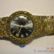 Relojes de pulsera: RELOJ DE PULSERA CON PIEDRAS CAUNY PRIMA. Lote 26729451