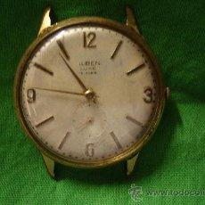 Relojes de pulsera: -RELOJ DE CARGA MANUAL MARCA ...LBEN LUXE CON BAÑO DE ORO 10 MICRONS - PARA REPARAR. Lote 27341520