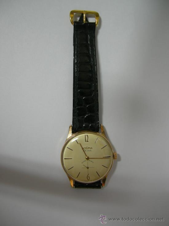 Antiguo reloj de pulsera dogma prima para hombr Vendido en