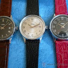 Relojes de pulsera: RUSIA RELOJ MECÁNICO NUEVO -SLAVA- CLASICO -ORIGINAL-NUEVO-. Lote 46677258