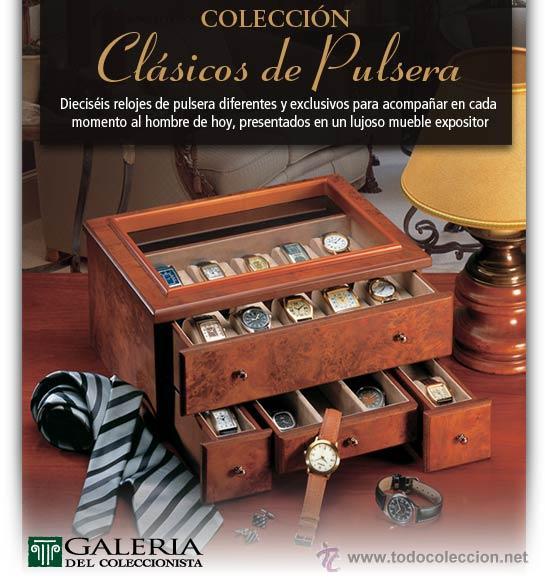 COLECCIÓN DE RELOJES CLÁSICOS DE PULSERA (Relojes - Pulsera Carga Manual)