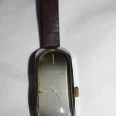 Relojes de pulsera: RE080 RELOJ RADIANT PARA MUJER - ESFERA MODERNISTA - 45 * 19 MM - FUNCIONA. Lote 28501905