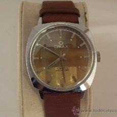 Relojes de pulsera: RELOJ OMAX MOVIMIENTO MANUAL 17 JEWELS SHOCKPROOF . FUNCIONA PERFECTAMENTE .. Lote 28941149