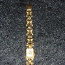 Relojes de pulsera: ANTIGUO RELOJ DE SEÑORA DE PLATA DORADA, DE PRINCIPIOS DE S.XX. Lote 29407820