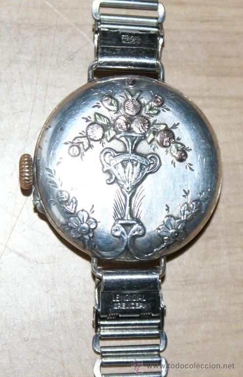 PRECIOSO RELOJ EN PLATA (Relojes - Pulsera Carga Manual)