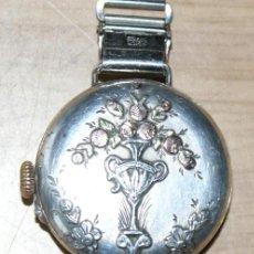 Relojes de pulsera: PRECIOSO RELOJ EN PLATA. Lote 29766009
