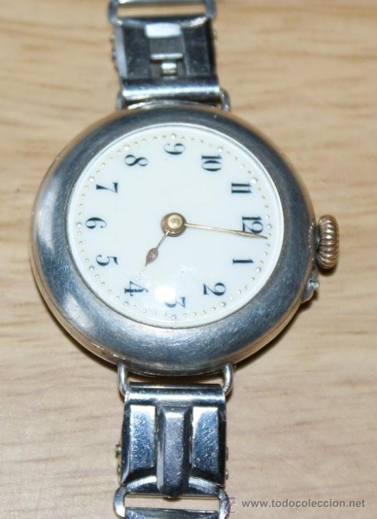 Relojes de pulsera: precioso reloj en plata - Foto 4 - 29766009