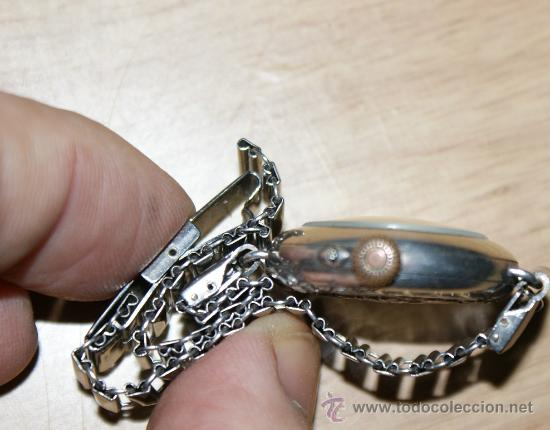 Relojes de pulsera: precioso reloj en plata - Foto 5 - 29766009
