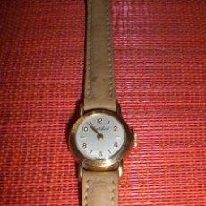 Relojes de pulsera: RELOJ DE MUJER CORTEBERT. FABRICADO EN SUIZA. CHAPADO ORO 20MICRAS. ORIGINAL VINTAGE. NO FUNCIONA.. Lote 30147698
