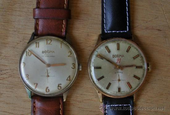 Boutique en ligne 49c8d 160f7 Dogma, lote de 2 originales relojes suizos. - Sold through ...