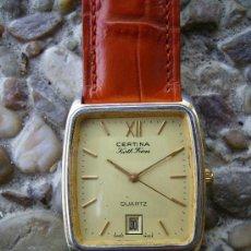 Relojes de pulsera: CERTINA CON DIARIO, FUNCIONANDO PERFECTAMENTE. Lote 31127708
