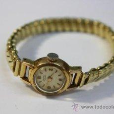 Relojes de pulsera: RELOJ SUIZO DE SEÑORA ORFINA CUERDA MANUAL CHAPADO ORO CAJA 15MM - FUNCIONANDO. Lote 31331822