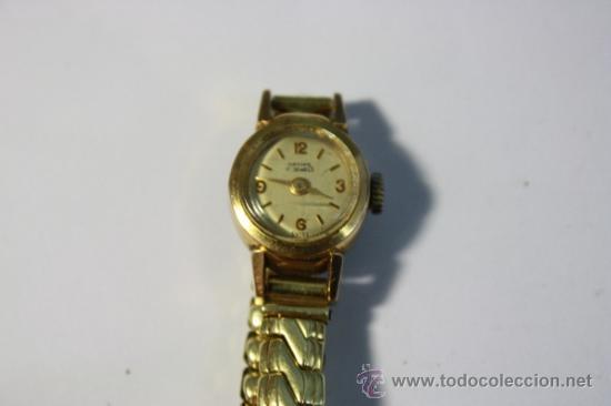 Relojes de pulsera: Reloj Suizo de Señora Orfina Cuerda Manual Chapado Oro Caja 15mm - Funcionando - Foto 2 - 31331822