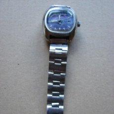 Relojes de pulsera: RELOJ DE PULSERA DUWARD. CARGA MANUAL. PULSERA DE ACERO. FUNCIONANDO.. Lote 31342790