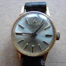 Relojes de pulsera: RELOJ ATIGUO DE PULSERA DE SEÑORA. CAUNY. NO FUNCIONA. Lote 31413894