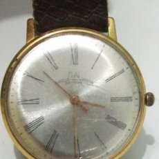 Relojes de pulsera: UNICO RELOJ RUSO LUCH – CCCP - ENCHAPADO ORO 20 – 23 RUBÍES - AÑOS 56/58 – PARA REPARAR. Lote 50830930