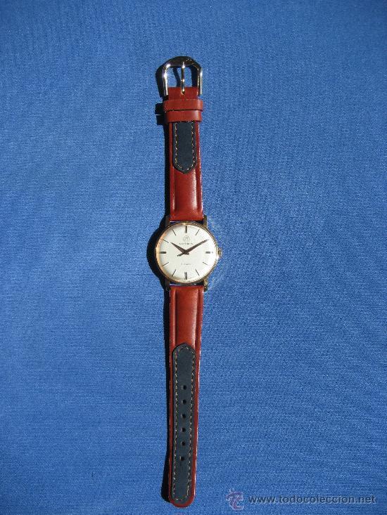 Relojes de pulsera: RELOJ MOERIS SUIZO PARA CADETE FUNCIONA CORRECTAMENTE - Foto 2 - 31782284