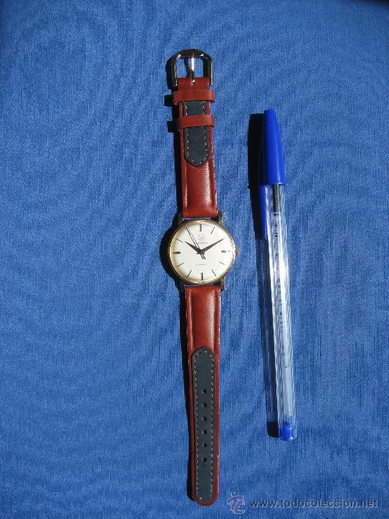 Relojes de pulsera: RELOJ MOERIS SUIZO PARA CADETE FUNCIONA CORRECTAMENTE - Foto 5 - 31782284