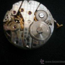 Relojes de pulsera: MAQUINARIA DE RELOJ ES SUIZA. Lote 37929541