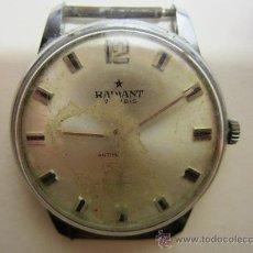 Relojes de pulsera: RELOJ RADIANT PARA RESTAURAR. Lote 31976393