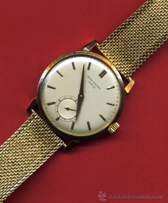 Reloj Marca Patek Philippe Geneve, Oro Y Pulser