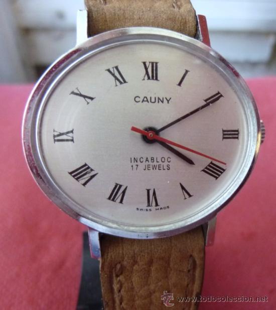 RELOJ CAUNY VINTAGE (Relojes - Pulsera Carga Manual)