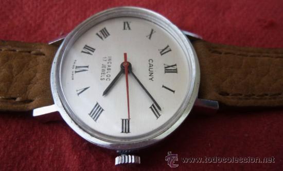 Relojes de pulsera: reloj cauny vintage - Foto 5 - 32269199