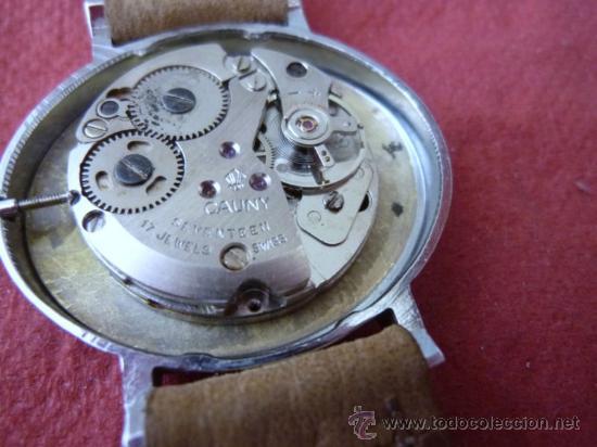 Relojes de pulsera: reloj cauny vintage - Foto 7 - 32269199