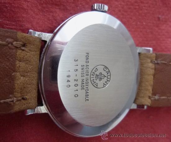 Relojes de pulsera: reloj cauny vintage - Foto 8 - 32269199