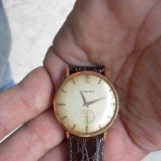 Relojes de pulsera: ANTIGUO RELOJ. DE PULSERA. LONGINES. ORO DE 18 QUILATES. EN ESTADO DE MARCHA. . Lote 32342843