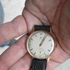 Relojes de pulsera: ANTIGUO RELOJ DE PULSERA. CYMA.. ORO DE 18 QUILATES. EN ESTADO DE MARCHA. . Lote 32343000