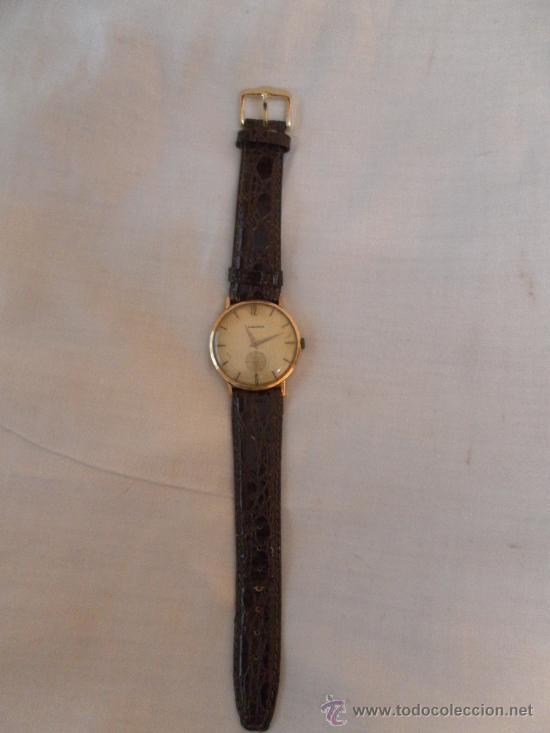 Relojes de pulsera: Antiguo reloj. De pulsera. Longines. Oro de 18 Quilates. En estado de marcha. - Foto 2 - 32342843