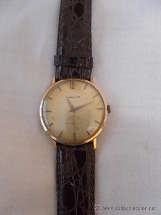 Reloj pulsera oro antiguo