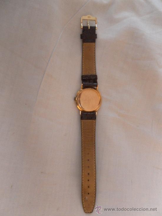 Relojes de pulsera: Antiguo reloj. De pulsera. Longines. Oro de 18 Quilates. En estado de marcha. - Foto 5 - 32342843