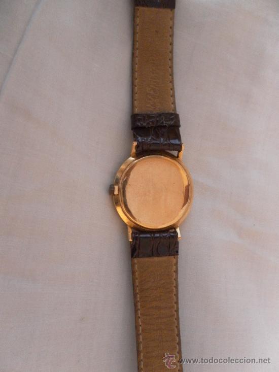 Relojes de pulsera: Antiguo reloj. De pulsera. Longines. Oro de 18 Quilates. En estado de marcha. - Foto 6 - 32342843