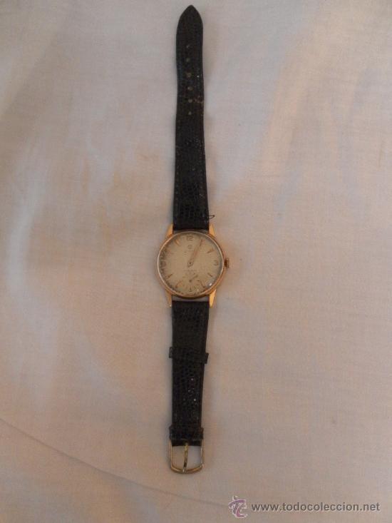Relojes de pulsera: Antiguo reloj de pulsera. Cyma.. Oro de 18 Quilates. En estado de marcha. - Foto 2 - 32343000
