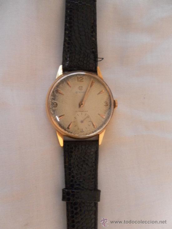 Relojes de pulsera: Antiguo reloj de pulsera. Cyma.. Oro de 18 Quilates. En estado de marcha. - Foto 4 - 32343000